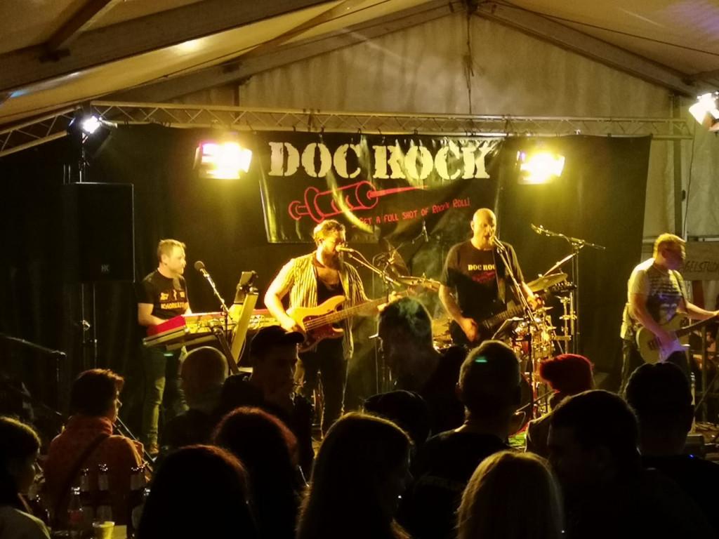 """DOC ROCK live am """"Kalten Markt"""" 2019 in Schlüchtern"""